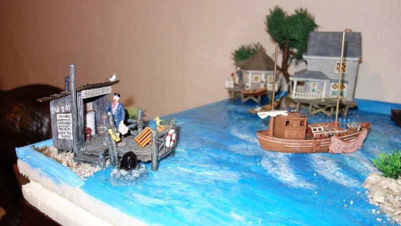 """Mon village """"Noël en été"""" (Gwen) Dsc01637"""