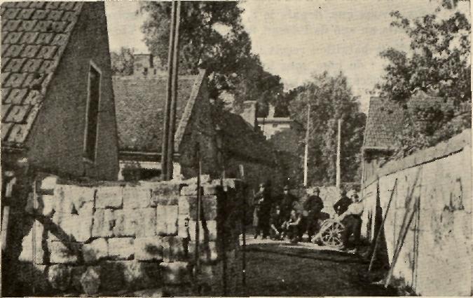 Les Chasseurs en mai-juin 1940. Barric10