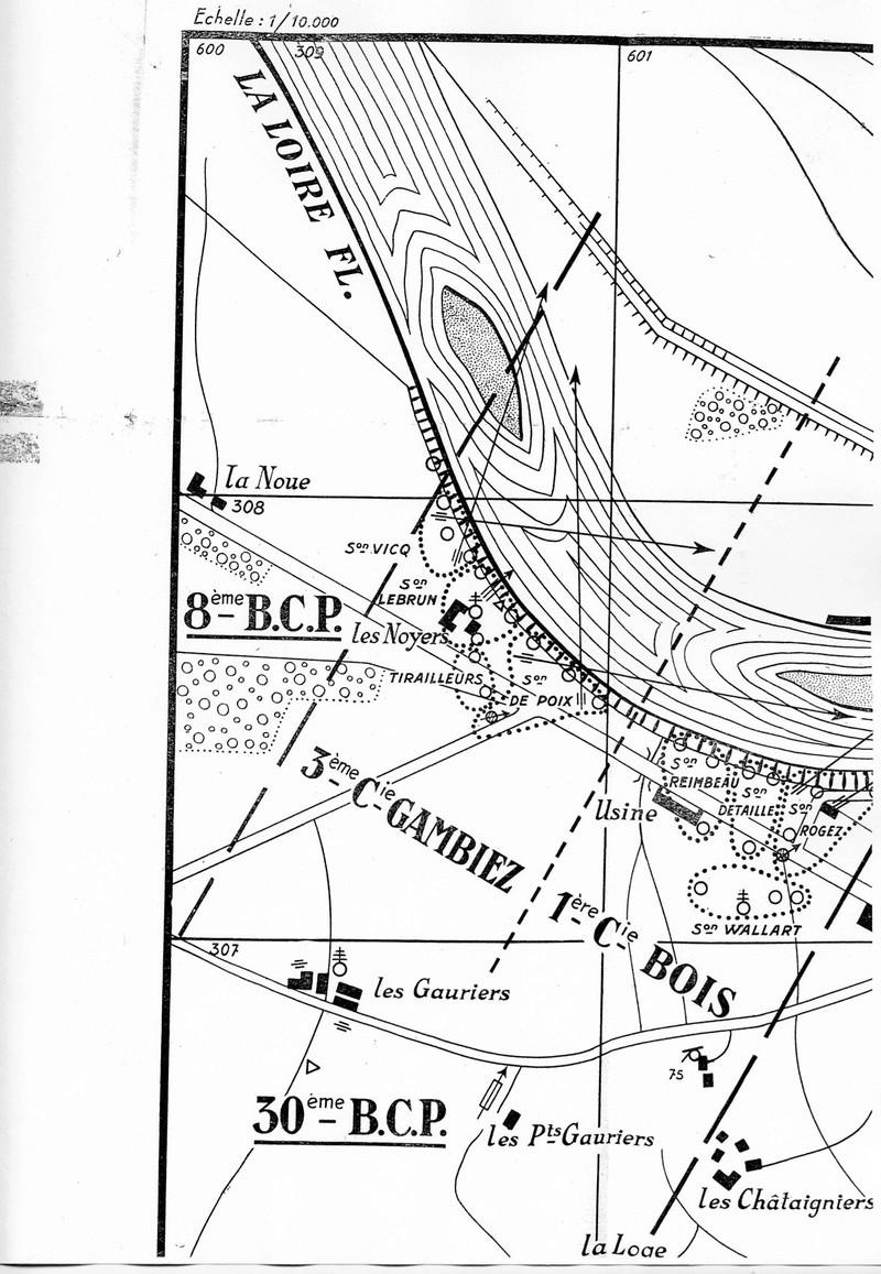 Les Chasseurs en mai-juin 1940. Carte10