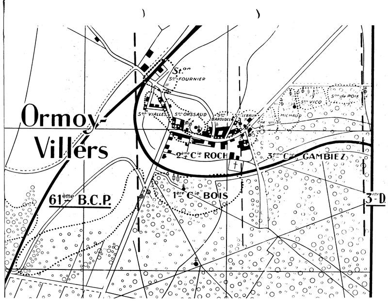 Les Chasseurs en mai-juin 1940. Ormoy10