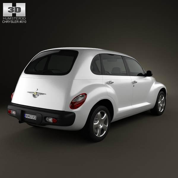 PT Cruiser en 3D Chrysl60
