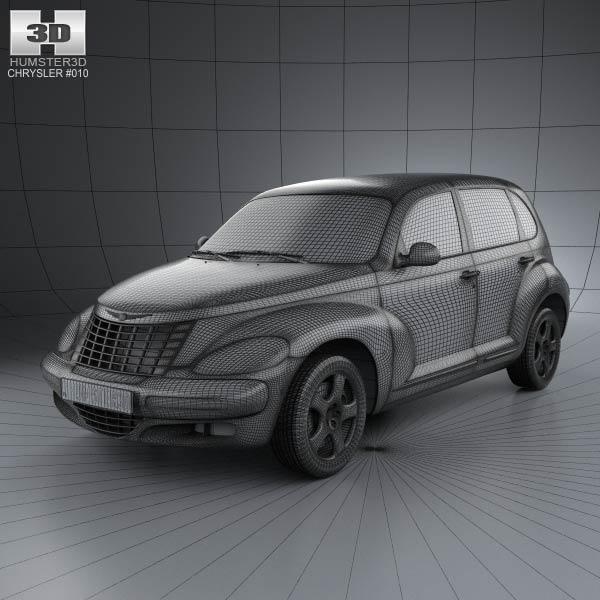 PT Cruiser en 3D Chrysl61