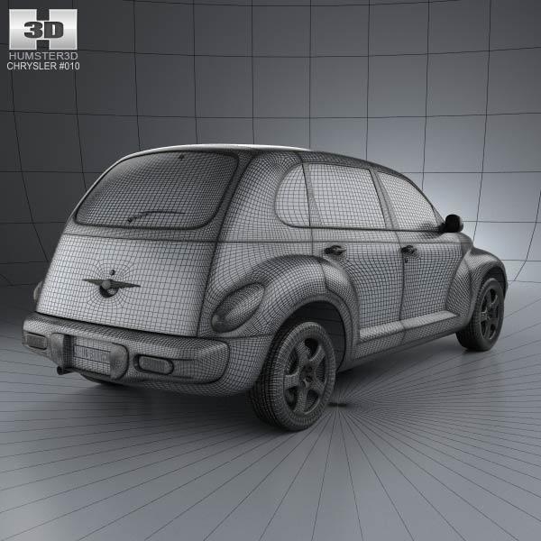 PT Cruiser en 3D Chrysl62