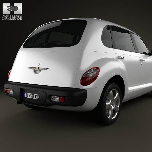 PT Cruiser en 3D Chrysl65