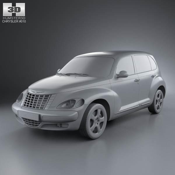 PT Cruiser en 3D Chrysl69