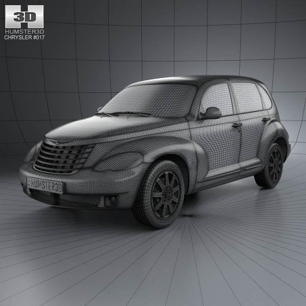 PT Cruiser en 3D Chrysl73