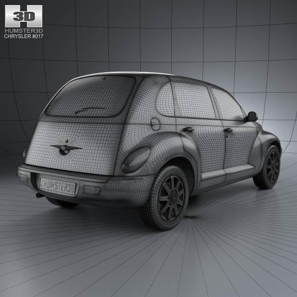 PT Cruiser en 3D Chrysl74