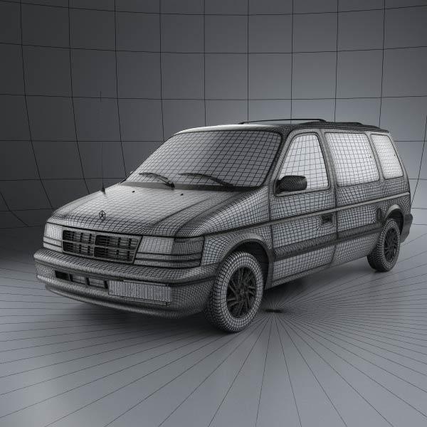 S2 en réalisation 3D Dodge_30