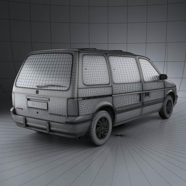 S2 en réalisation 3D Dodge_31
