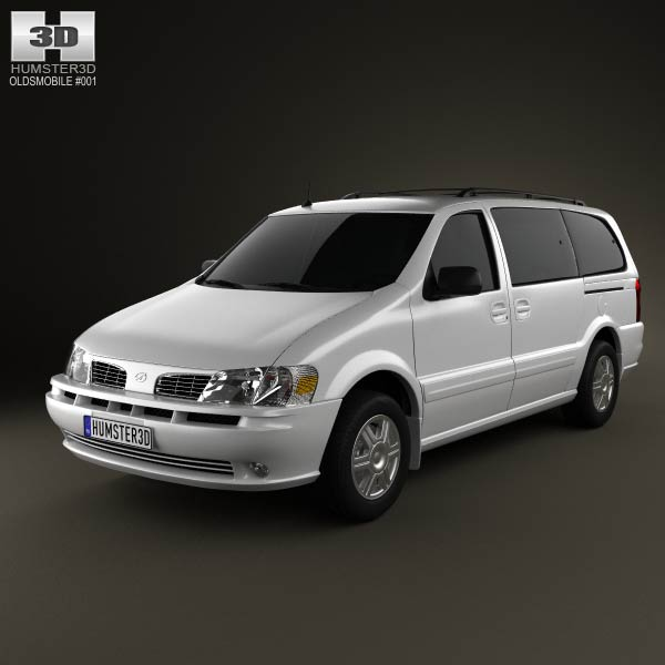 Oldsmobile Silhouette en réalisation 3D Oldsmo10