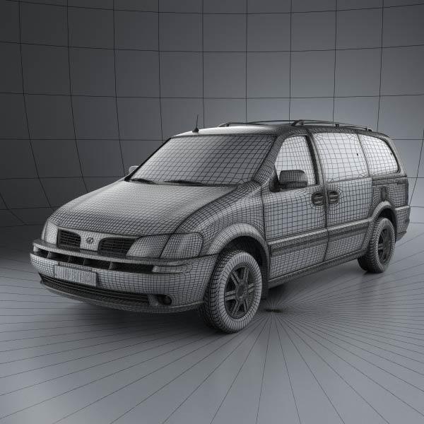 Oldsmobile Silhouette en réalisation 3D Oldsmo12