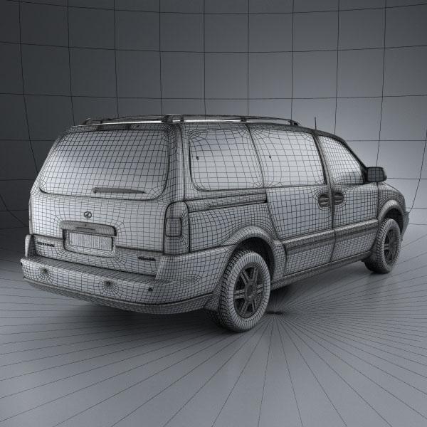 Oldsmobile Silhouette en réalisation 3D Oldsmo13