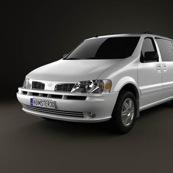 Oldsmobile Silhouette en réalisation 3D Oldsmo15