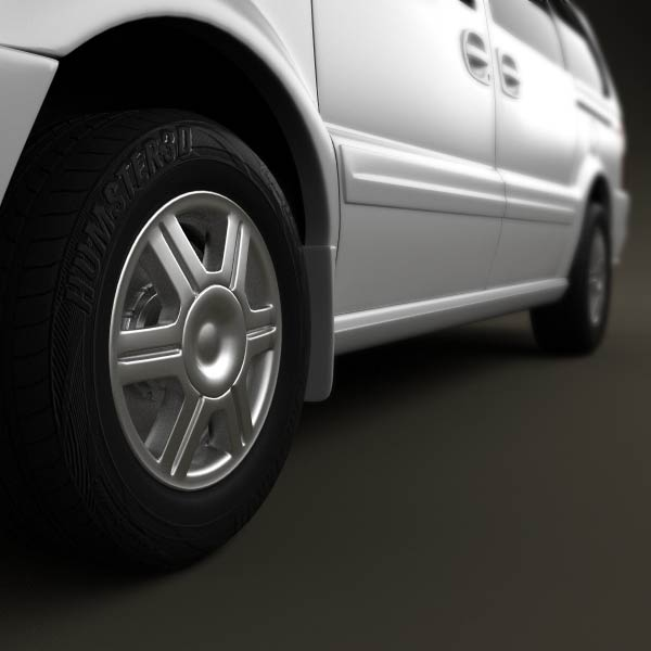 Oldsmobile Silhouette en réalisation 3D Oldsmo17