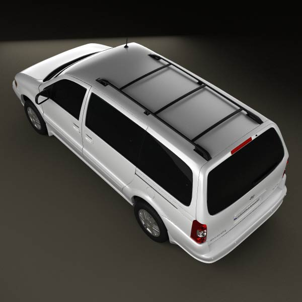 Oldsmobile Silhouette en réalisation 3D Oldsmo18