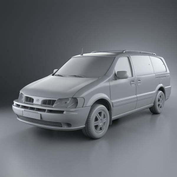 Oldsmobile Silhouette en réalisation 3D Oldsmo20