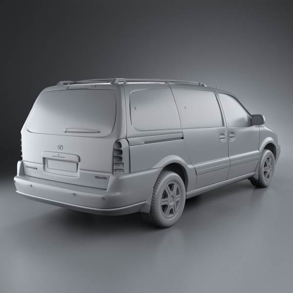 Oldsmobile Silhouette en réalisation 3D Oldsmo21
