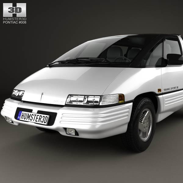 Pontiac Trans Sport en réalisation 3D Pontia15