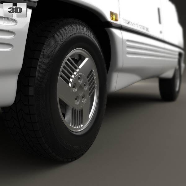 Pontiac Trans Sport en réalisation 3D Pontia17