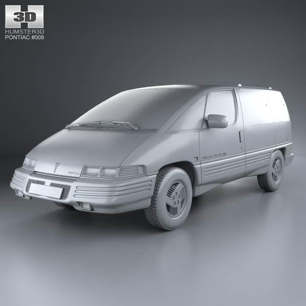 Pontiac Trans Sport en réalisation 3D Pontia20