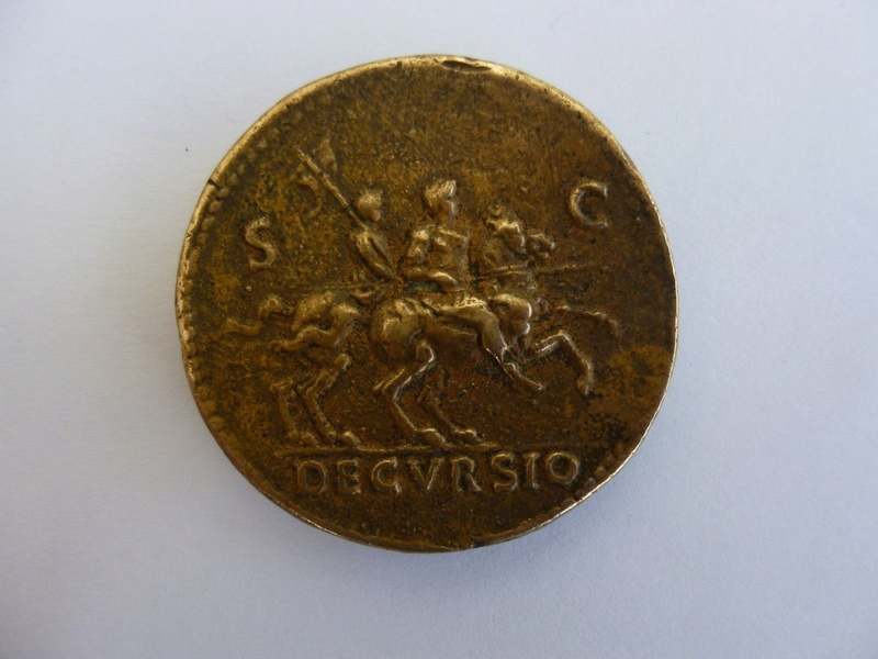 Romaine. Nero Claudius Caesar, Decursio. _5810