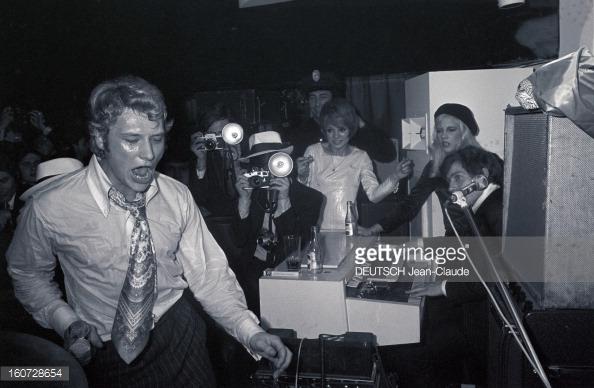 1968 JOHNNY ET SYLVIE AU PSYCHEDELIC NIGHT 16072811