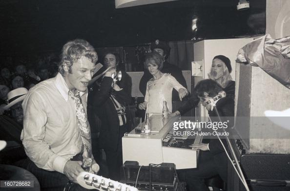1968 JOHNNY ET SYLVIE AU PSYCHEDELIC NIGHT 16072813