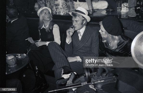 1968 JOHNNY ET SYLVIE AU PSYCHEDELIC NIGHT 16072910