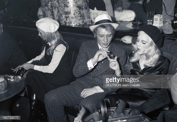 1968 JOHNNY ET SYLVIE AU PSYCHEDELIC NIGHT 16072911