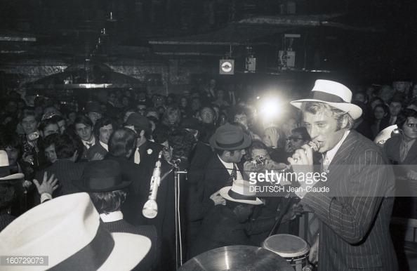 1968 JOHNNY ET SYLVIE AU PSYCHEDELIC NIGHT 16072913