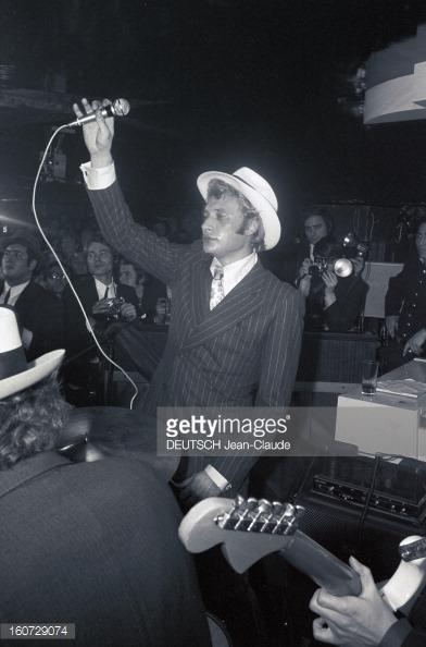 1968 JOHNNY ET SYLVIE AU PSYCHEDELIC NIGHT 16072915