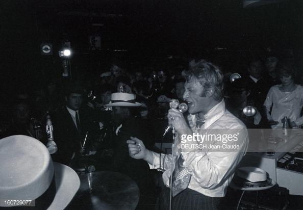 1968 JOHNNY ET SYLVIE AU PSYCHEDELIC NIGHT 16072917