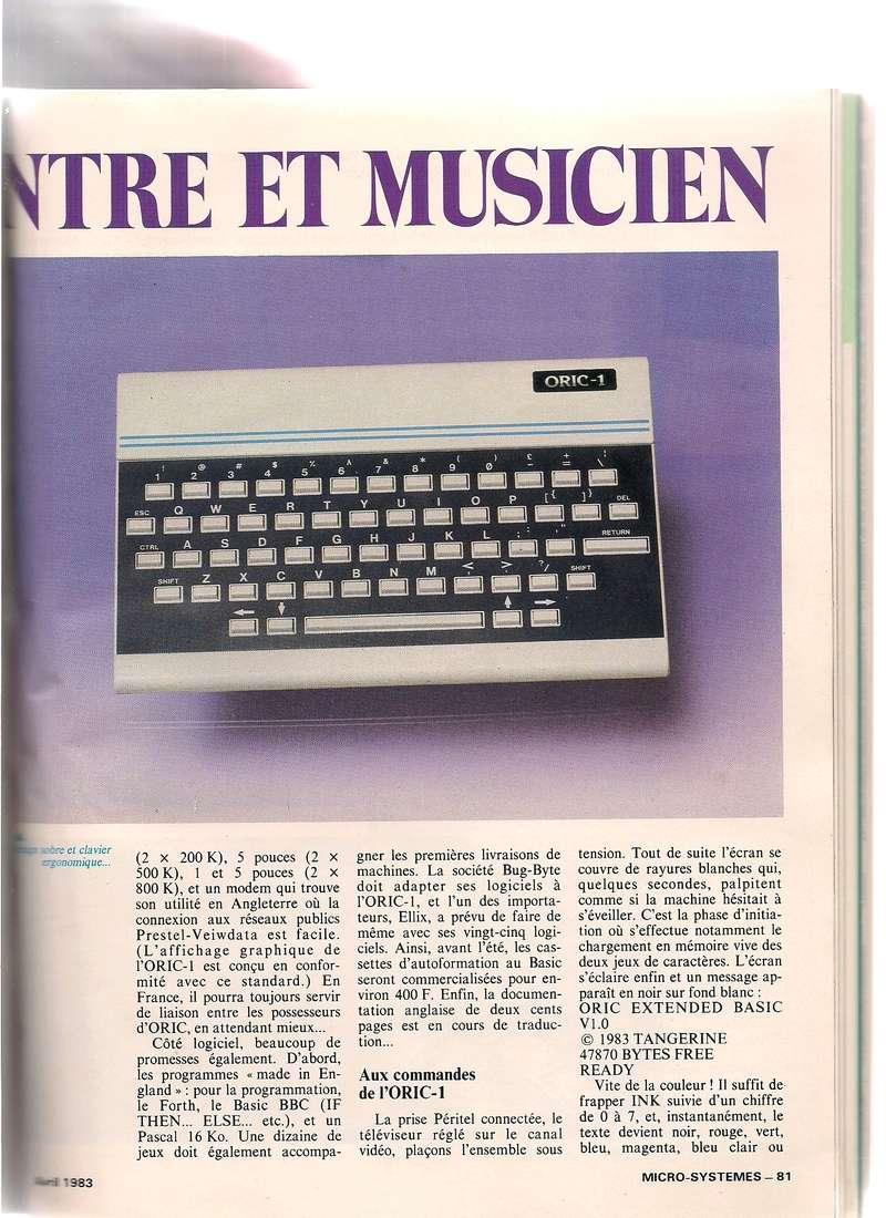 Articles sur l'Oric dans les revues Micro Systemes Scan_210