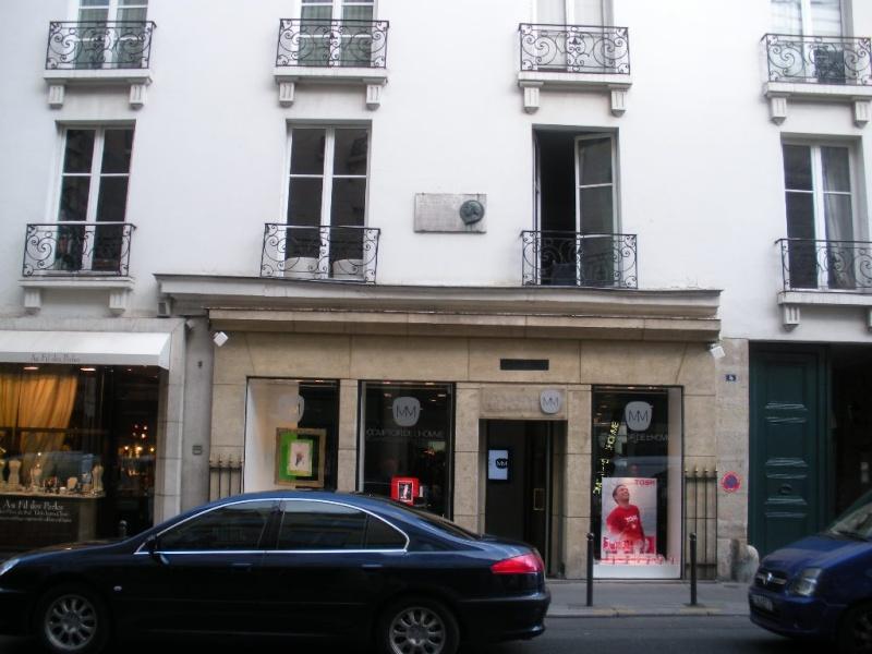 Melle Marie - Anne Adélaide Lenormand habitait au 5 rue Tournon Dscn1310