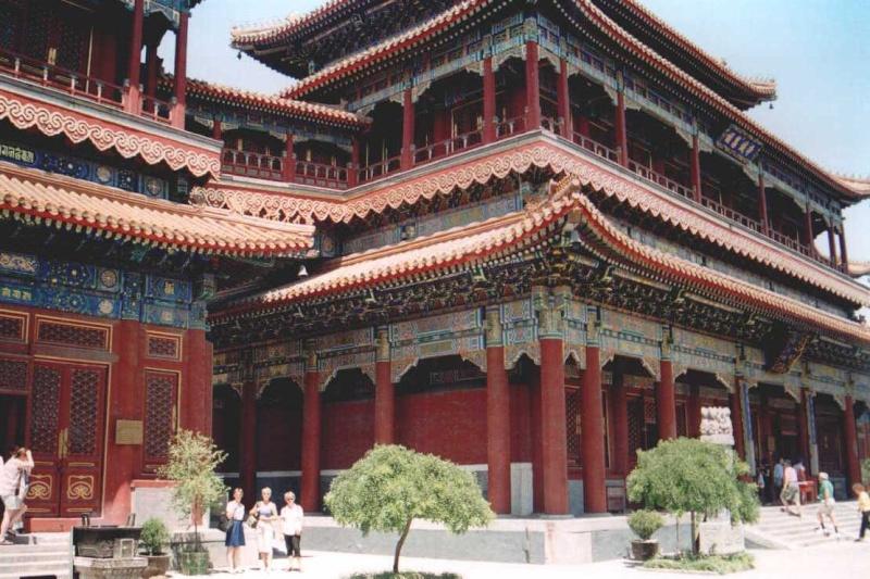 Le taoïsme, philosophie et religion Temple10