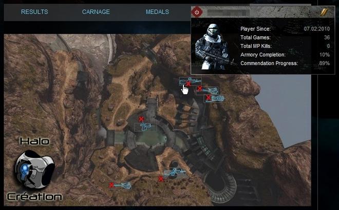 Bungie.net pour Halo Reach (Statistiques/Stats) 01112