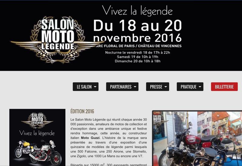 Salon Moto Légende 2016 ! Image110