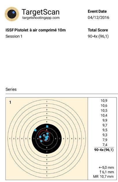 mon carton du 25/11 avec target scan Target10