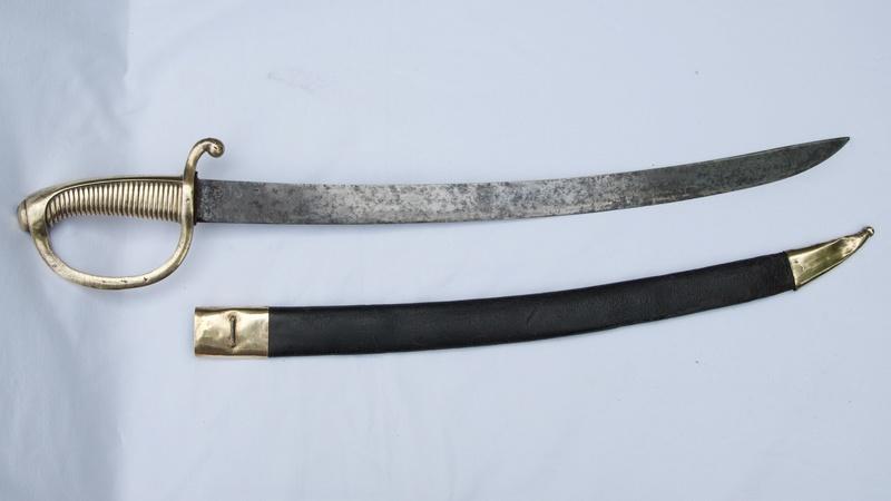 Sabre Briquet de Klintenthal, daté de 1813 Fullsi39