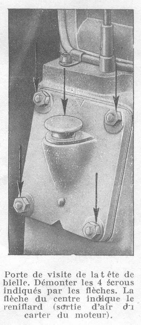 Huile - Recherche carter bouchon de remplissage huile Bernard W2 W_910