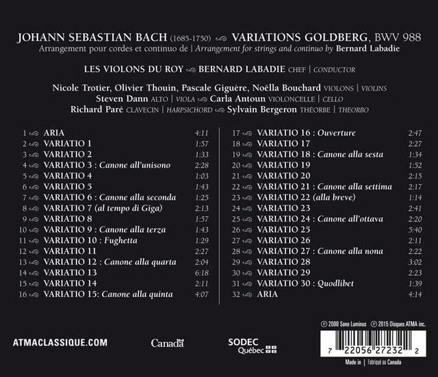 les Variations Goldberg - Keith Jarrett (et autres) - Page 2 72205610
