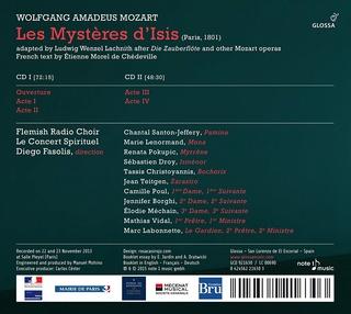 Les Mystères d'Isis, opéra français...de Mozart 81zimp10