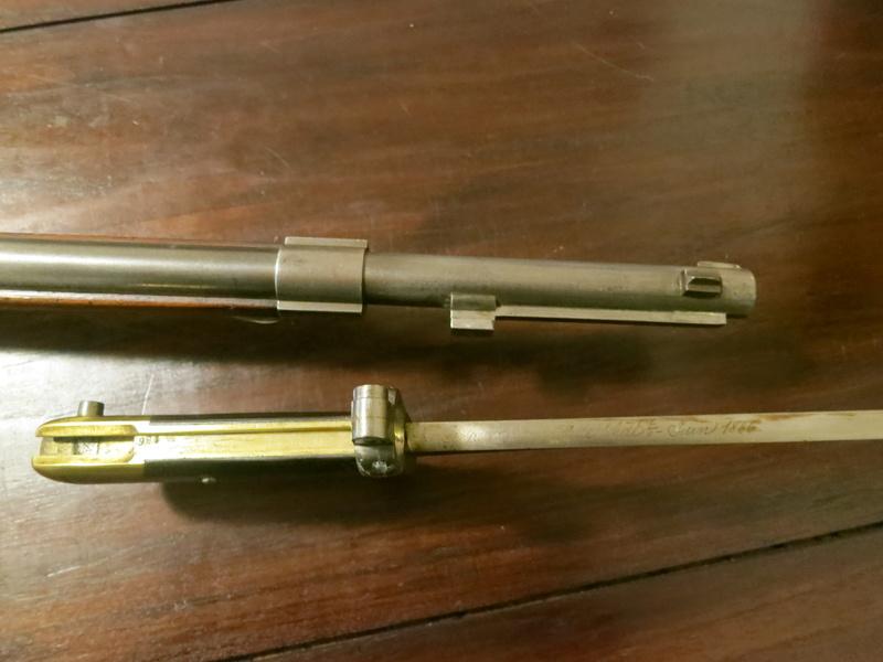 Fusil Réglementaire français: le Chassepot Img_1334