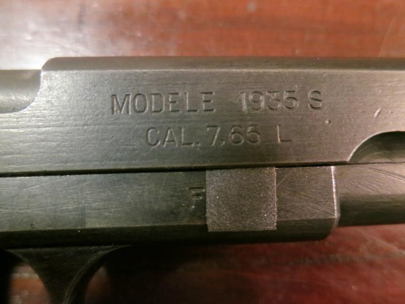 """Pistolet réglementaire MAS Modèle 1935 """"S"""" Img_2237"""