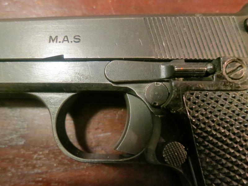 """Pistolet réglementaire MAS Modèle 1935 """"S"""" Img_2240"""