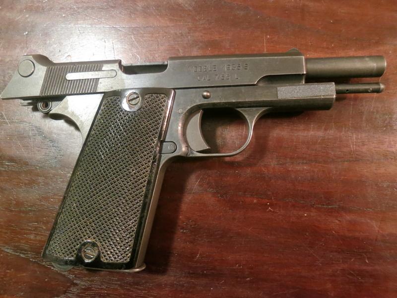 """Pistolet réglementaire MAS Modèle 1935 """"S"""" Img_2243"""