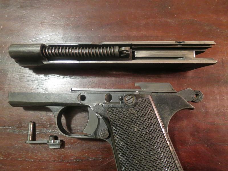 """Pistolet réglementaire MAS Modèle 1935 """"S"""" Img_2248"""