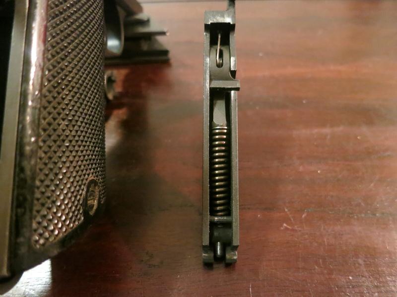 """Pistolet réglementaire MAS Modèle 1935 """"S"""" Img_2253"""