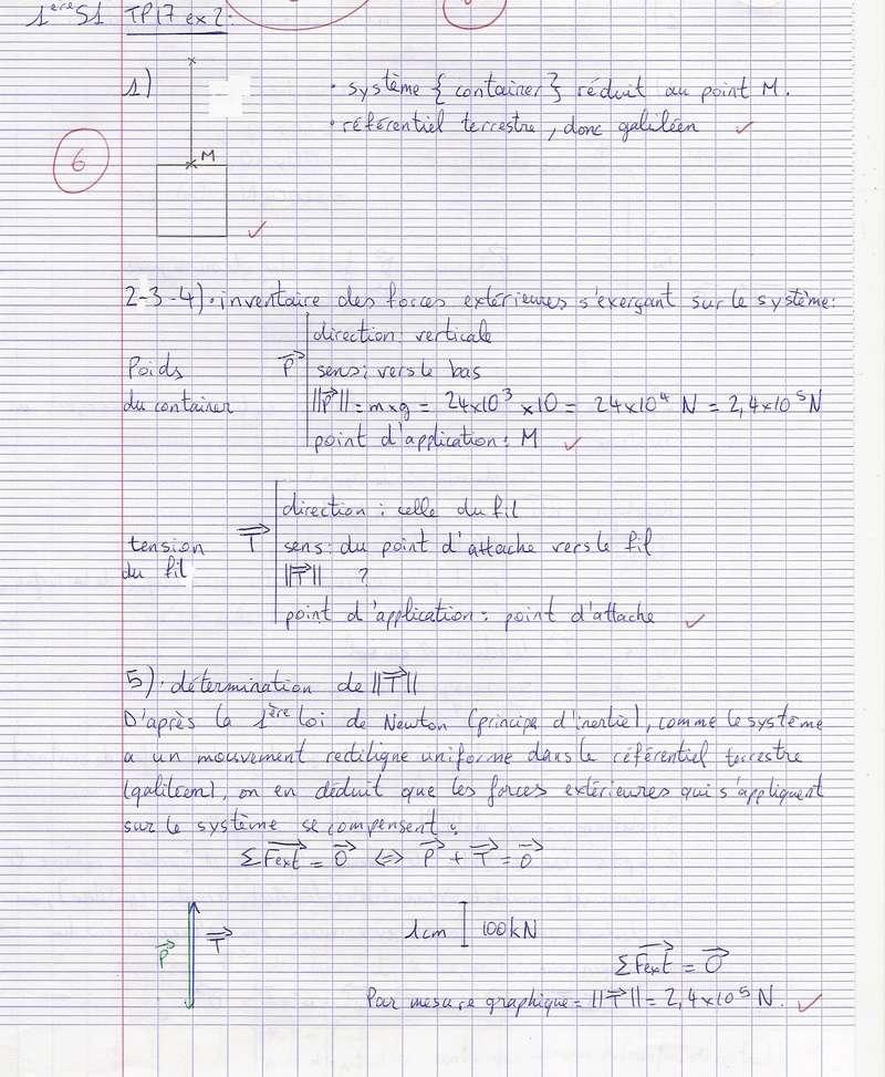 TDs n°17 et 18 Lois de Newton Numyri23