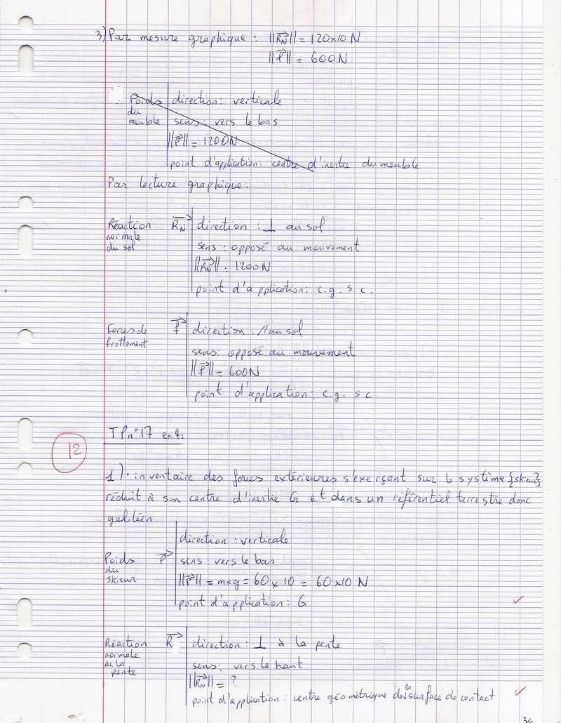 TDs n°17 et 18 Lois de Newton Numyri24